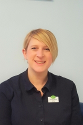 Amy Hornby, Receptionist