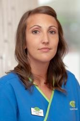 Kate Collinson, Receptionist & Decontamination
