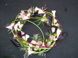 CALLA WILLOW WREATH