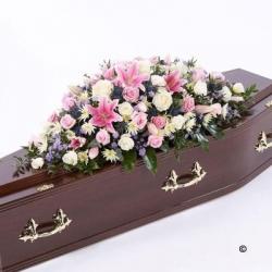 Delicate shades Coffin Spray