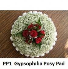 GYPSOPHILIA BASED POSY PAD