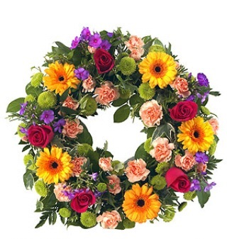 MIXED LOOSE WREATH