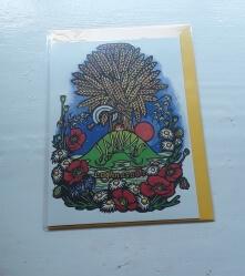 Lammas, Wheatsheaf Card