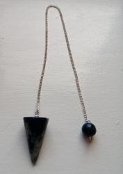 Lapis lazuli Crystal Pendulum Cone