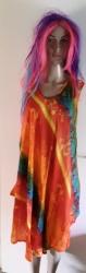 Orange Umbrella Kaftan, Dress