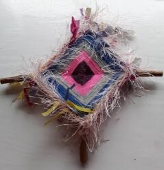 Multicoloured Brigid Cross 8