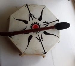 Tribal Shamanic Drum, Medium
