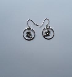 Witch Hoop Earrings