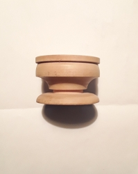 Wooden Crystal Ball Stand