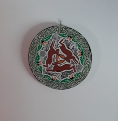 Circle of Hares Wall Plaque