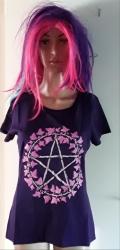 Purple Pentacle T-Shirt, Women