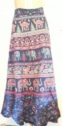 Indian Boho Wrap-Around Skirt