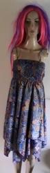 Blue Handkerchief Dress