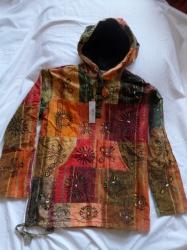 Patchwork Hooded Jacket
