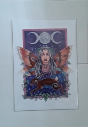 Imminent Luna A4 Print