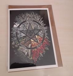 Pentacle Elements Card