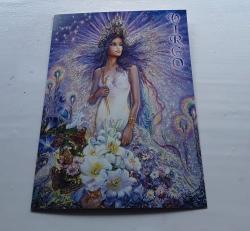 Virgo Greetings Card