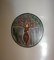 Tree Goddess Plaque