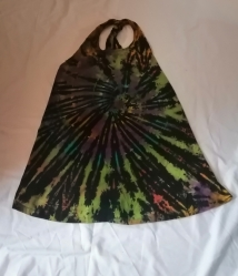 Tie-dye Halter Neck Top