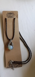 Dragon Clw Opalite Pendant Necklace