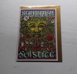 Summer Solstice Green Man