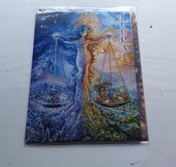 Libra Greetings Card