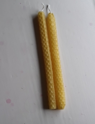 Set of 2 Beeswax Candles