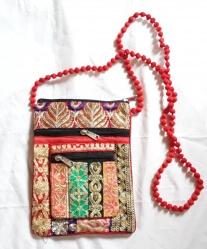 Passport Shoulder Bag, Red