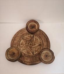 Pentagram Tea-Light Holder