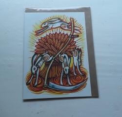 Lammas Hares Card