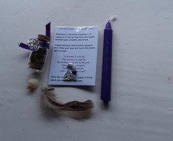 Psychic Development Charm and Spell Bag