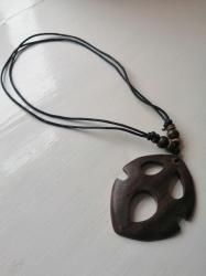 Maori-Style Carved Pendant Necklace