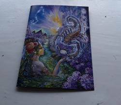 Scorpio Greetings Card