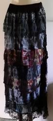 Lacey, BohemianTie-Die Skirt