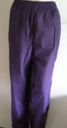 Purple Striped Boho Trousers
