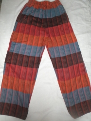 Patchwork Trousers Size L