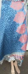Wrap-around Sari Skirt