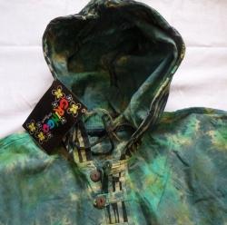 Hooded Kurta Top, Size M
