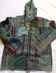 Patchwork Jacket, Size M