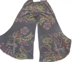 Hippie Patterned Flares Size S/M