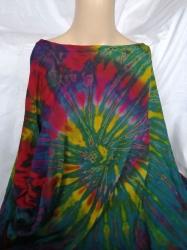 Tie-dye Hippie Top, One Size
