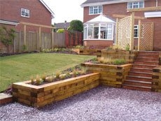 Bespoke Garden Designs in Staffordshire