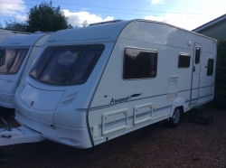 Ace Award Tristar 2005 4berth fixed end bed,mtr-mover & awning & extras nice cond.