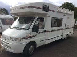 Swift Kontiki 650 1999,5 berth lux,Mtr,home,on Fiat Ducato 14',2.5 turbo diesel chassis,34,000miles, motd 1year,lovely condition