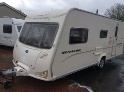 Bailey Senator 6 Arizona 2007 4berth,EW,mover & awning