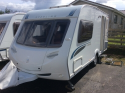 Sterling Eccles Topaz,T5blux 2berth,EW,first Redg,7/8/08,mover&Awn,