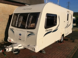 Bailey Olympus 460/2 2013 luxury 2 berth,mover and awning,plus extras