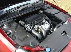 car with bonnet open