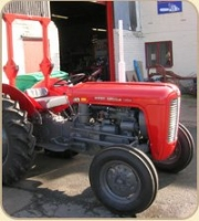 Massey Ferguson with Roll Bar