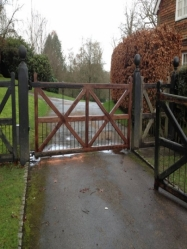 Pedestrian & Double Gate